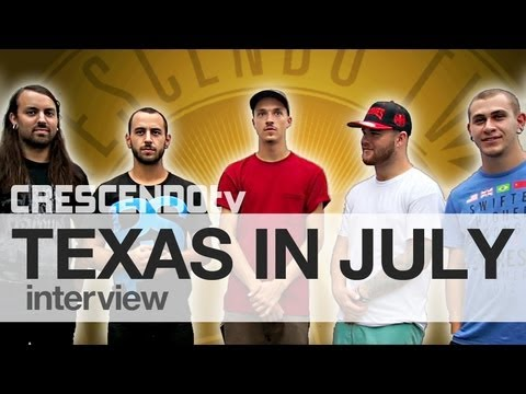 TEXAS IN JULY interview | Head On Collisions | NEW CD
