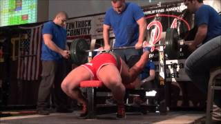 Eric Lilliebridge- 2,353lbs (1,067.5kgs) All-Time World Record Raw Total w/ Wraps 23 y/o @ 275lbs