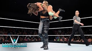 Kacy Catanzaro vs. Rhea Ripley - Second-Round Match: Mae Young Classic, Oct. 3, 2018