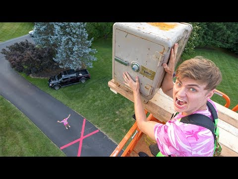 DROPPING ABANDONED SAFE!!