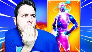 I GET THE SKIN GALAXY! *so my friend reacts* [FORTNITE]