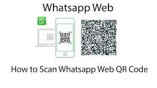 How to Scan Whatsapp Web QR Code in bangla
