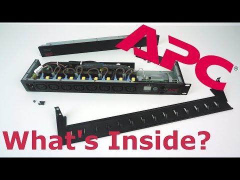Teardown of an APC Switched Rack PDU - AP7921