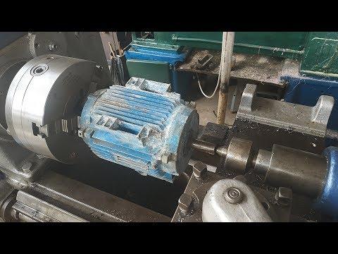 Как сделать наждак из двигателя