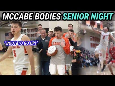 Jordan McCabe DRIPS SAUCE On Senior Night And Gets DUB 🏆