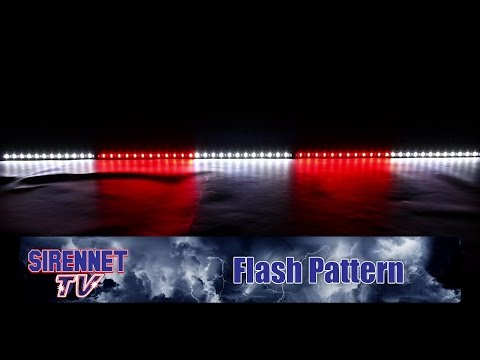 Flash Pattern: Whelen Tracer Series DUO Light Array - Five Modules