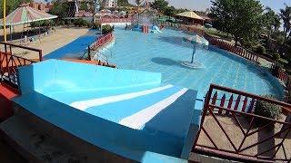 Little Blue Water Slide at Splash The Sun City