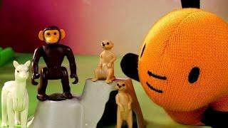 Niespodzianki ze zwierzętami - Królik Bing & Playmobil - bajka po polsku