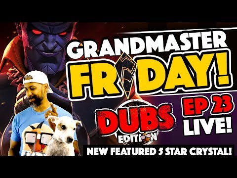 GRANDMASTER Friday Community Crystal Opening Ep. 23 Trying The New Featured 5 Star Crystal!