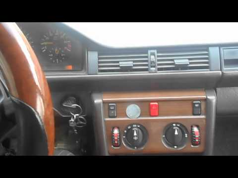 Мерсдес W124 мелкий ремонт печки