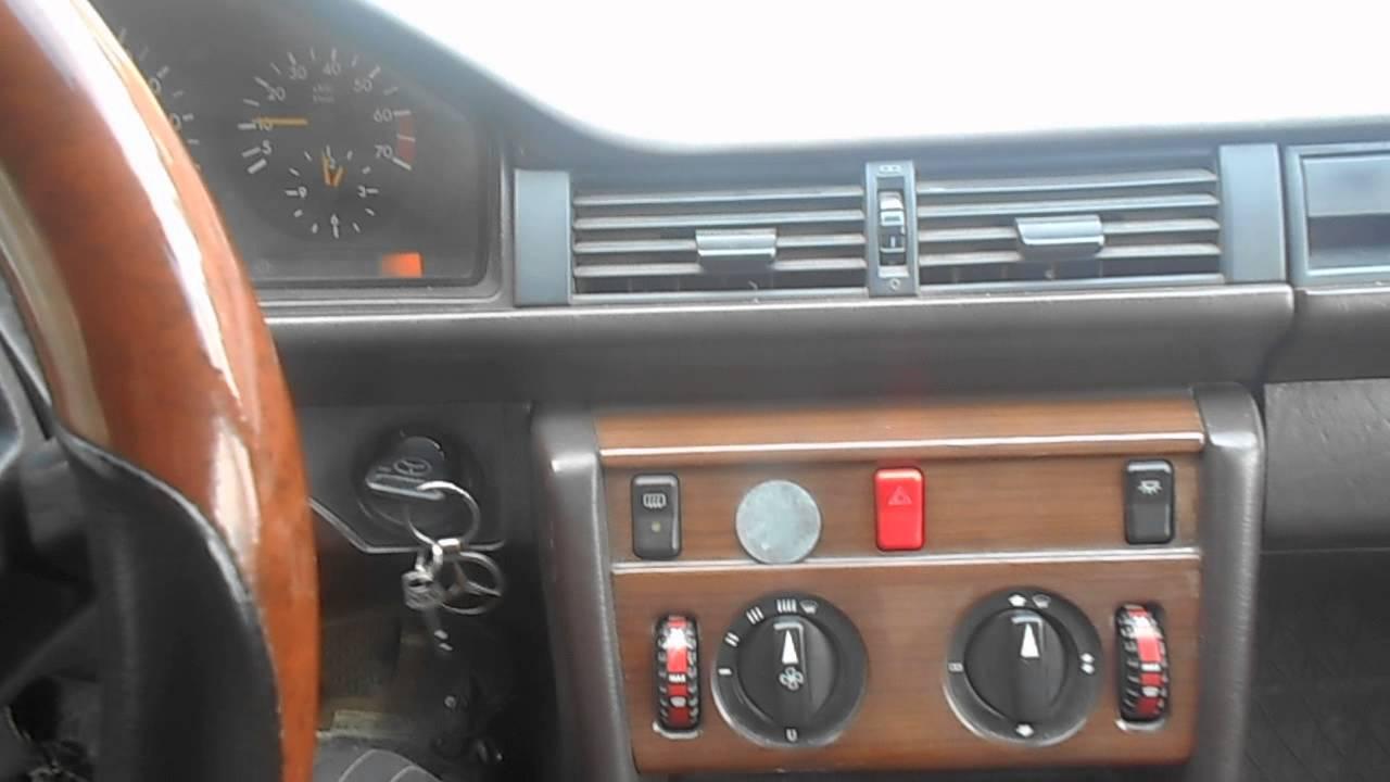 Мерсдес W124 мелкий ремонт печки - YouTube