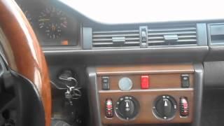 Мерсдес W124 ұсақ жөндеу печки