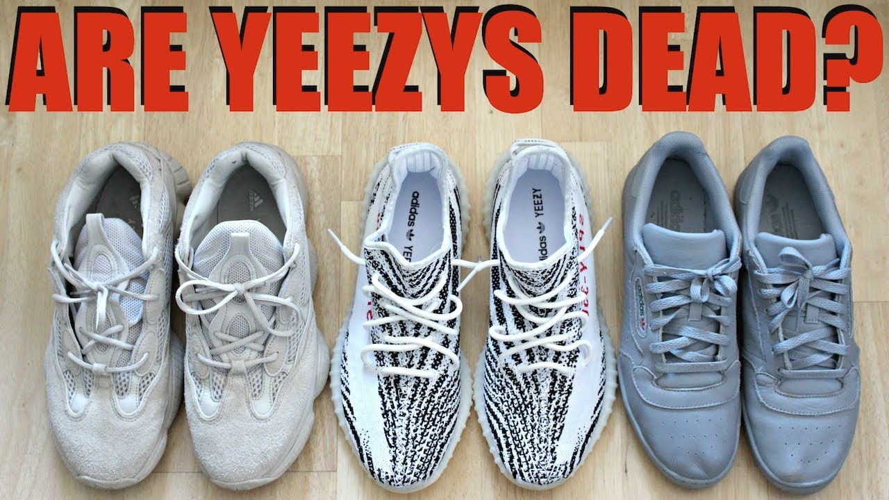 the latest b077a 931d2 ARE YEEZYS STILL COOL? HAS KANYE RUINED YEEZYS?