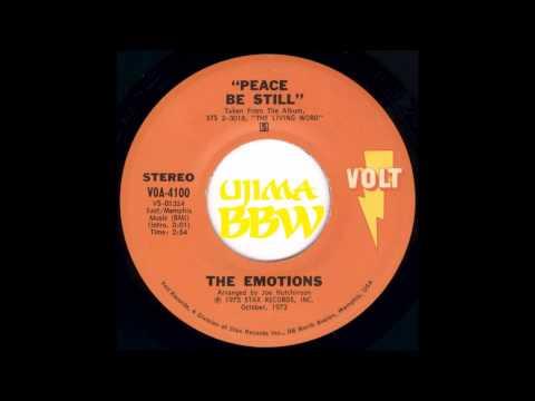 EMOTIONS   Peace Be Still   VOLT RECORDS   1973