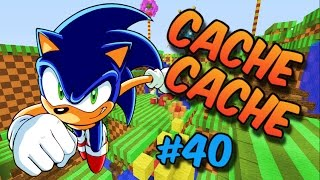 CACHE CACHE SUR MINECRAFT ! MAP SONIC ! EPISODE 40 !