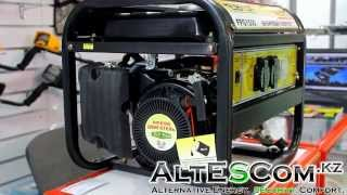 Видеообзор бензогенератора Helpfer FPG1500
