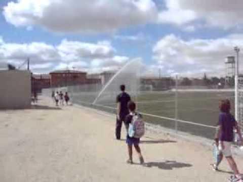 Cañon de riego Playground 2 – instalado por Irconsa