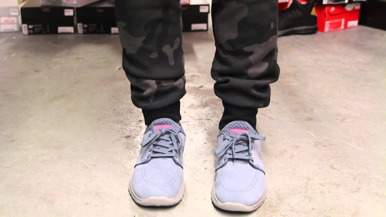 e2b1acbd Nike SB Janoski Max - Graphite - On-feet Video at Exclucity - YouTube
