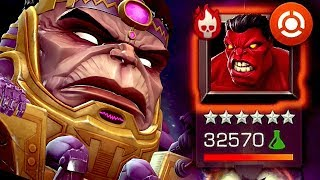 Uncollected: Red Hulk Boss Fight [Epic Style] | Marvel: Contest of Champions