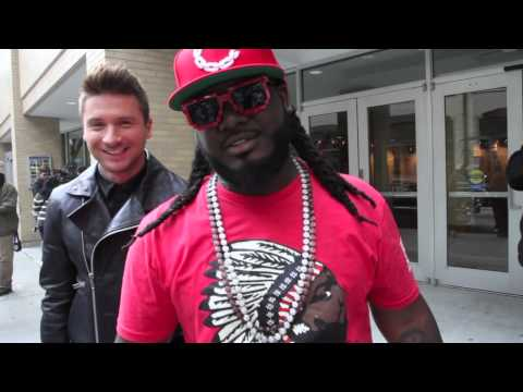Sergey Lazarev feat T-Pain Cure the thunder MAKING OF the video