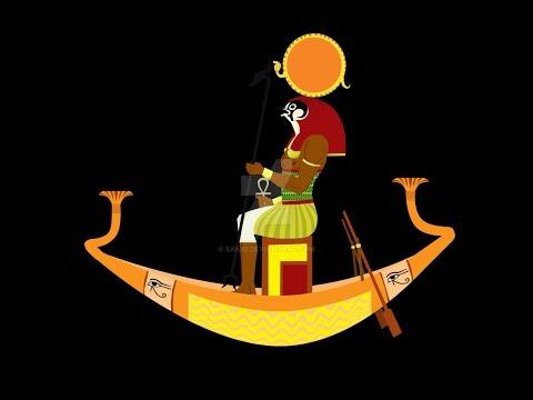 The Sun God Ra  supreme power in the universe Kemetic Egyptian Mythology