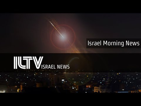 2 Gaza rockets fired at Beersheva in ceasefire breach - ILTV Israel news - Nov. 17, 2019