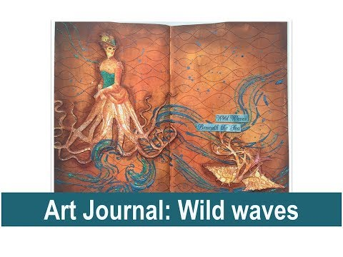 Art Journal with Panpastel