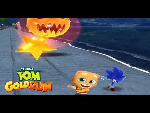 Talking Ginger VS Sonic Dash | Real Battle | Epic Battle
