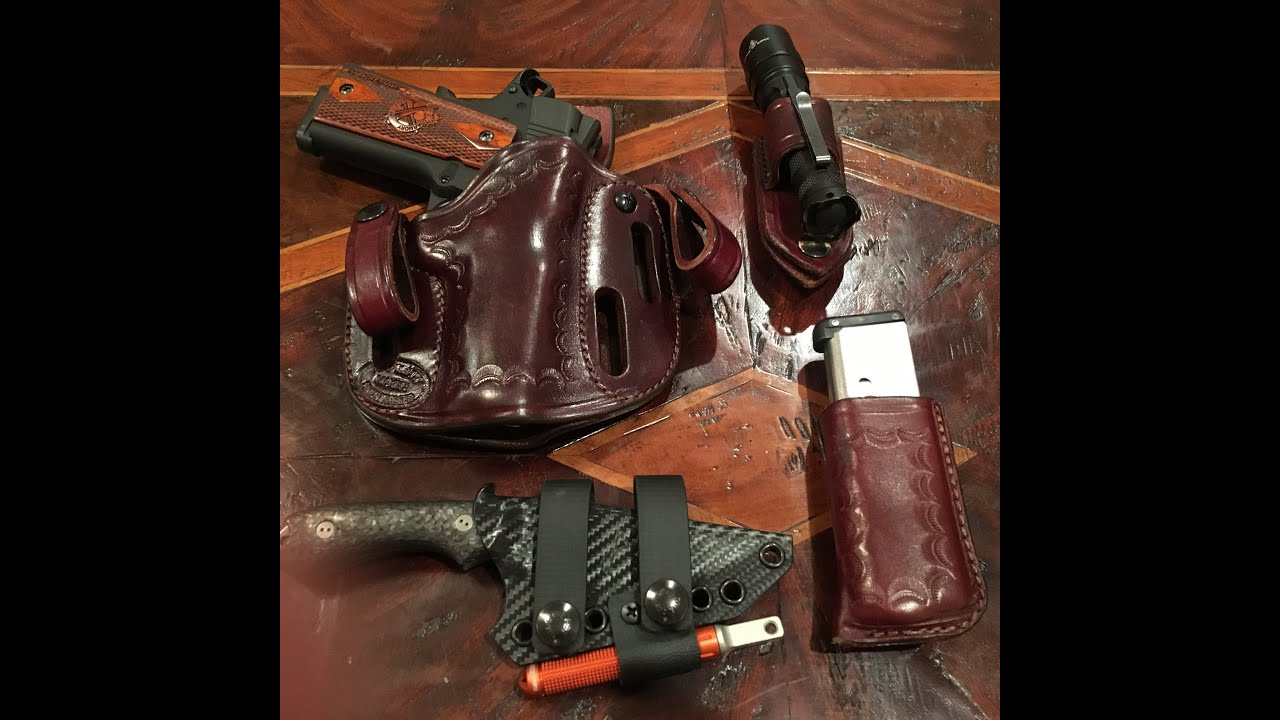 Simply Rugged Holster My Favorite 1911 Holster For Daily