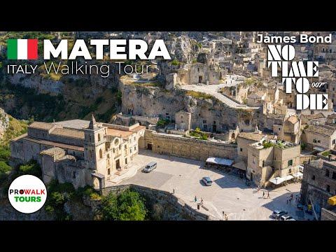Matera, Italy Walking Tour [4K | 60fps]