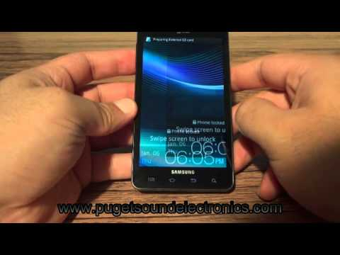How to unlock At&t Samsung Infuse i997 4G
