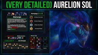 (VERY Detailed) Aurelion Sol Guide