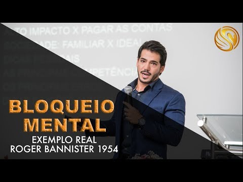 Bloqueio mental - exemplo real Roger Bannister 1954