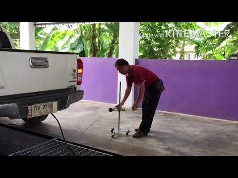 การตรวจสภาพรถ inspection kuaj tsheb