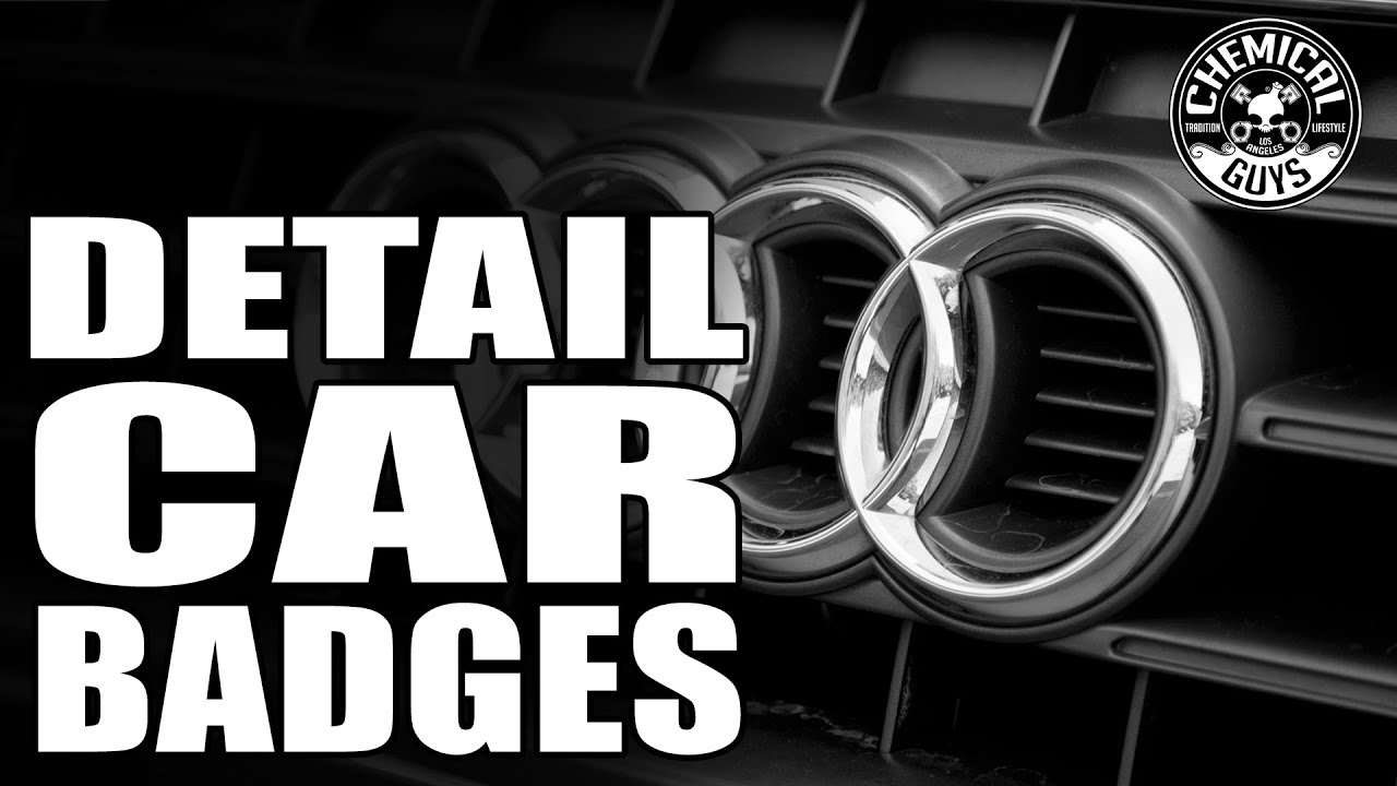 How To Detail Badges And Emblems Chemical Guys Detailing Audi A - Audi car emblem