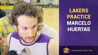 Marcelo Huertas Advises D'Angelo Russell To Stay Humble