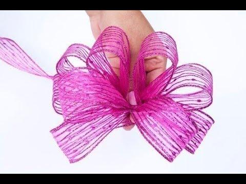 Как красиво завязать бант. How Beautiful To Tie A Bow