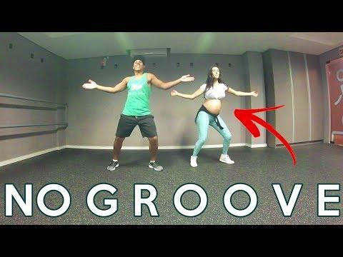 Grávida Dançando No Groove - Ivete Sangalo e Psirico COREOGRAFIA