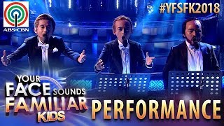 Your Face Sounds Familiar Kids 2018: TNT Boys as The Three Tenors | 'O Sole Mio