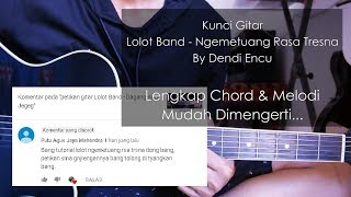 kunci gitar Lolot Band - Ngemetuang Rasa Tresna