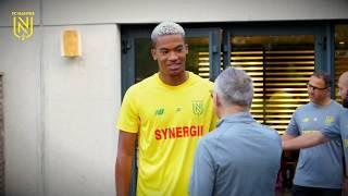 Les premiers pas d'Alban Lafont au FC Nantes