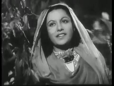 Woh aaye bahaaren laaye, Bazi sehnaayi ... Afsaana-1951, Latabai, HLBR.