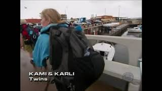 Amazing Race Fail Moments #34 - Kami And Karli Miss The Clue Box