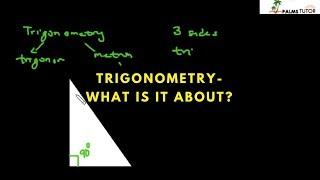 what is trigonometry?