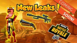 FORTNITE - *NEW* LEAKED ITEMS COMING SOON! (SKINS, GUNS, GLIDERS & MORE) MUST WATCH