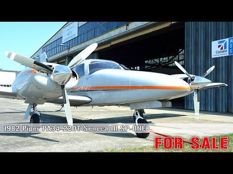 PIPER PA34 220T Seneca III SP-ONE FOR SALE
