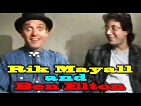 Rik Mayall and Ben Elton Interview from 1985