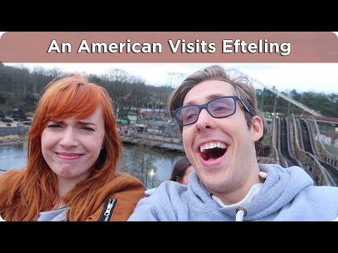 American Visits Dutch Theme Park! | Efteling | AD