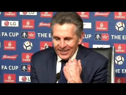 Claude Puel Post Match Press Conference | Leicester City 1-2 Chelsea | FA Cup Quarter Final | Vardy