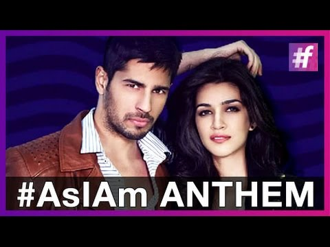 Thumbnail: #AsIAm - Anthem - Sidharth Malhotra | Kriti Sanon | Meet Bros Feat Benny Dayal and Jankee Parekh
